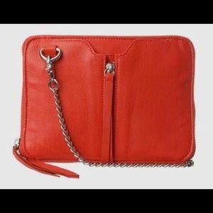 Anthro Kelsi Dagger Chelsea red Crossbody Bag